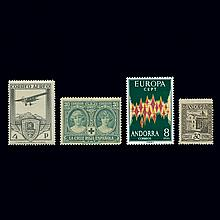 Andorra and Spain Stamp Collection