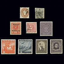 Austrian Stamp Collection 1850 to 1935