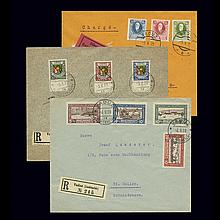 Liechtenstein Semi-Postal Issues 1925 to 1928 Scott B1-10