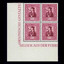Liechtenstein Mint Issues 1941 to 1949