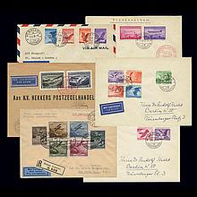 Liechtenstein Air Post Issues on Cover 1930 to 1939