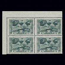 Switzerland 1914 3Fr Dark Green Scott 181, Zumstein 129