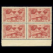 Switzerland Group of Mint Blocks 1914 to 1950