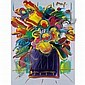 Peter Max American, b. 1937 Abstract Flowers version III #8, Peter Max, Click for value