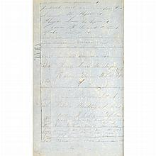 [SHIP LOG] Log book (partial) of the Barque Mars for 1858-1863.