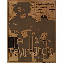 Pierre Bonnard LA REVUE BLANCHE Color lithograph