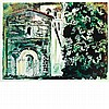 John Piper LA CHAPELLE ST. ROBERT, DORDOGNE (LEVINSON 189) Color screenprint, John Piper, $500