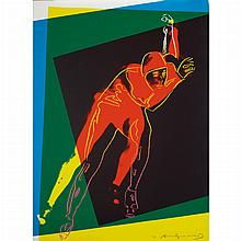 Various Artists ART AND SPORTS Official art portfolio of the XVI Olympic Winter Games, Sarajevo, 1984 including 19 of 20 prints