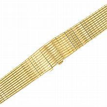 Gold Bracelet-Watch, Patek Philippe