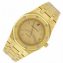 Gentleman's Gold 'Royal Oak' Wristwatch, Audemars Piguet