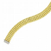 Reversible Gold and Diamond Bracelet, Roberto Coin