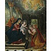 Central Italian School 16th/17th Century The Mystic Marriage of Saint Catherine