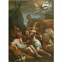 Follower of Alessandro Magnasco The Annuciation to the Shepherds