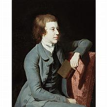 School of Sir Joshua Reynolds Young Man Holding a Book