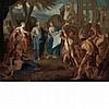 Nicolas Bertin French, 1668-1736 The Building of Noah's Ark