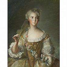 After Jean Marc Nattier Madame Sophie de France