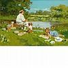 John Haskins English, b. 1938 Fishing Day