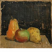 Robert Moore Kulicke American, 1924-2007 Pears and Apple, 1958