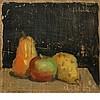 Robert Moore Kulicke American, 1924-2007 Pears and Apple, 1958
