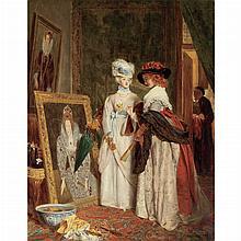 John Callcott Horsley British, 1817-1903 Critics in Costume, 1880