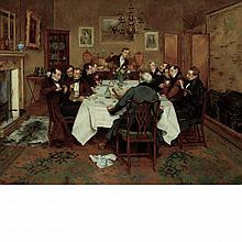 Walter Dendy Sadler British, 1854-1923 The Bagman's Toast.