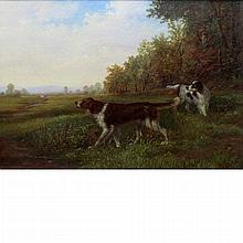 Howard Hill American, d. 1870 Point Across the Creek