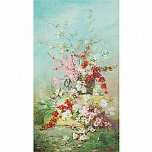 Marie Gauthier French, 19th/20th Century Spring Blooms