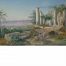 Guglielmo Giusti Italian, 1824-1916 Women Among Ruins