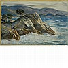 Andrew George Winter American, 1893-1958 Monterey Cyprus