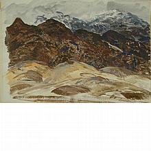 Andrew George Winter American, 1893-1958 Purple Mountains