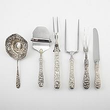 Assembled Stieff and Kirk Sterling Silver Flatware Service