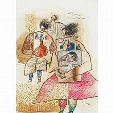 Theo Tobiasse French/Israeli, 1927-2012 ou'sont les souveniers/ j'un temps deja vecu, 1983