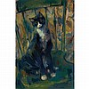 Franz Kline American, 1910-1962 Cat on a Chair