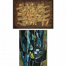 Robert Franquinet Dutch, 1915-1979 (i) Abstract