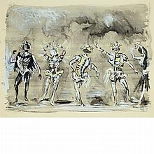 Kurt Seligmann American/Swiss, 1900-1962 Carnival Dance
