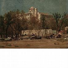 Thomas Worthington Whittredge American, 1820-1910 Chapultepec Castle