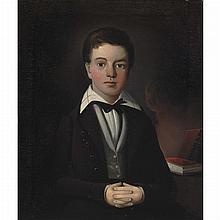 William Matthew Prior American, 1806-1873 Portrait of Andrew Jackson Pierce, 1837