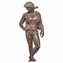 Edward Melcarth American, 1914-1974 Male Figure