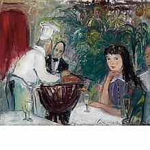 Ludwig Bemelmans American,1898-1962 Maxims, Paris