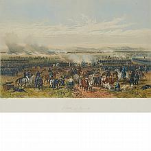 After Carl Nebel BATTLE OF PALO ALTO Hand-colored lithograph by Adolphe Jean-Baptiste Bayot, circa 1851
