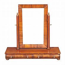 Classical Mahogany Dressing Mirror