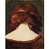 Andre Derain French, 1880-1954 Nuque de Femme, circa 1928   Signed a derain (lr) Oil on canvas 12 13/16...