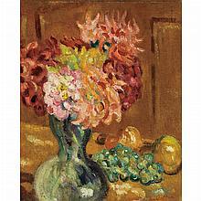 Louis Valtat French, 1869-1952 Vase de Chrysanthemes, 1901