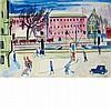 Ernst Ludwig Kirchner German, 1880-1938 An Der Spree, circa 1928   Signed EL Kirchner (lr); with indistinct...