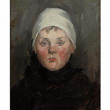 William Merritt Chase American, 1849-1916 Untitled (Portrait of a German Boy), circa 1875