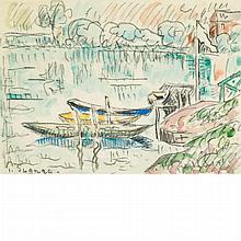 Paul Signac French, 1863-1935 Paimpol, circa 1925