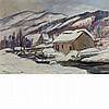 Chen Baoyi (Po Yi Tschun) Chinese, 1893-1945 Cabin in the Snow, 1921
