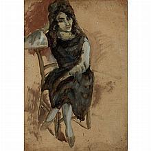 Jules Pascin French, 1885-1930 La Persane, 1923-24