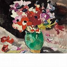 Louis Valtat French, 1869-1952 Anemones dans un Vase Vert