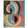 Sonia Delaunay COMPOSITION Color etching and aquatint, Sonia Delaunay, $500